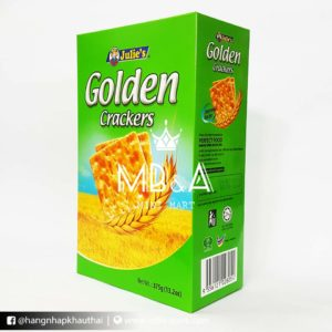 Bánh quy Lulie's Golden Crackers - Malaysia