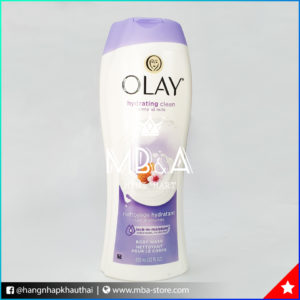 Sữa tắm Olay Hydrating Clean - 650ml - Almond Milk